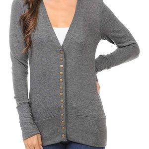 🆕Zenana Outfitters Button Cardigan